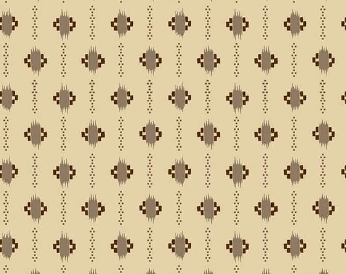 RJR Family Roots Legacy Patterns Olivia Nutmeg Beige Brown Shirting Civil War Fabric 3548-002 BTY