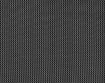Cotton and Steel Basic Notorious Black Cat White Lines Fabric 5000-008 BTY