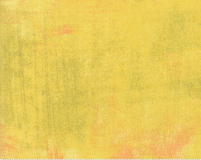 Moda Grunge Basics New CURRY Yellow Gold Orange Green Background Fabric 30150-447 BTY