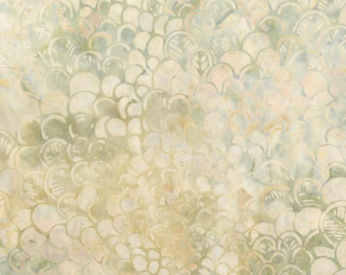 Anthology Art Inspired Batik Andrew Wyeth Christina's World Cream Beige Grey Floral Fabric 208Q-1 BTY