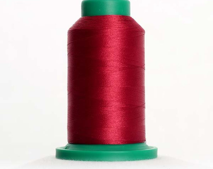 ISACORD Polyester Embroidery Thread Color 2211 Pomegranate 1000m