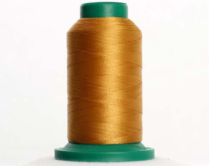 ISACORD Polyester Embroidery Thread Color 0822 Palomino 1000m