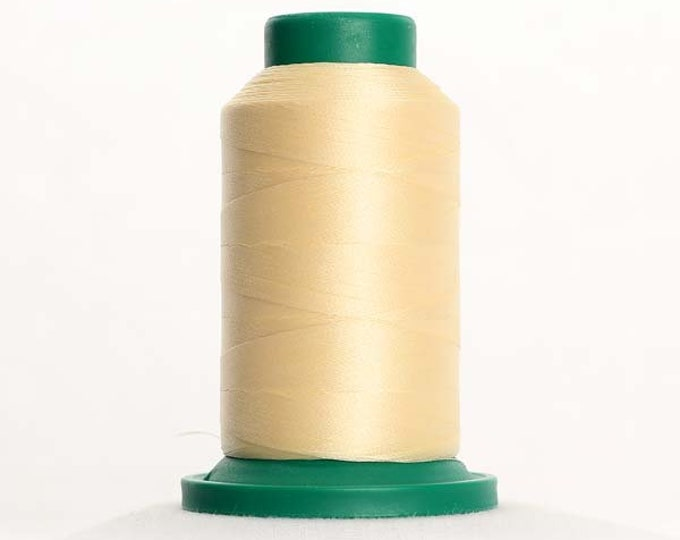 ISACORD Polyester Embroidery Thread Color 0660 Vanilla 1000m