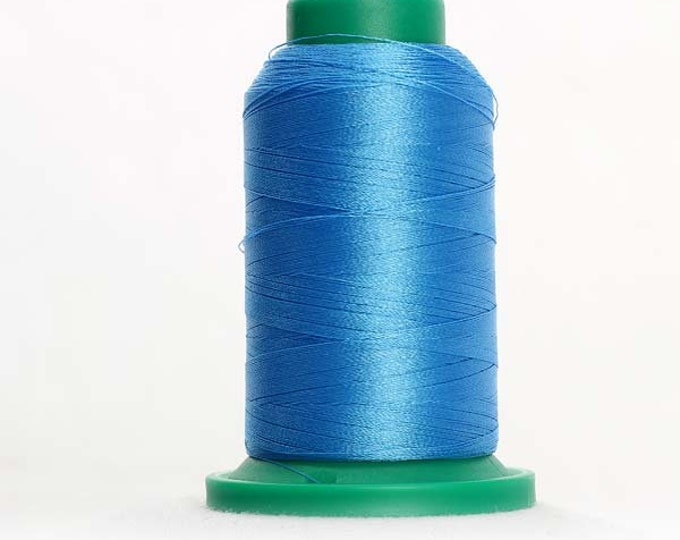 ISACORD Polyester Embroidery Thread Color  3815 Reef Blue 1000m