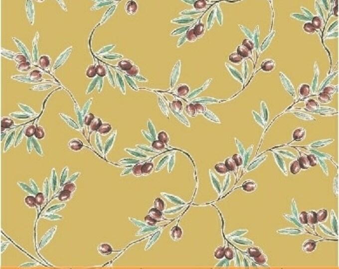 Windham Bella Toscana Tuscany Italian Olives Olive Yellow Fabric 51353-4 BTY