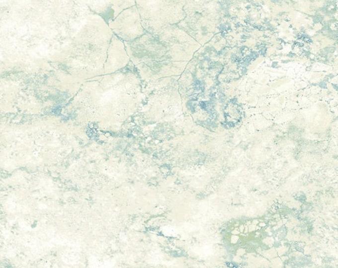 Northcott Stonehenge Gradations Blue Planet Cream Teal Blue Marble Fabric 39305-48 BTHY