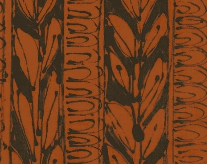NEW Windham Art History 101 by Marcia Derse Matisse Amphora Brick Brown Orange Black Fabric 50412-3 BTY