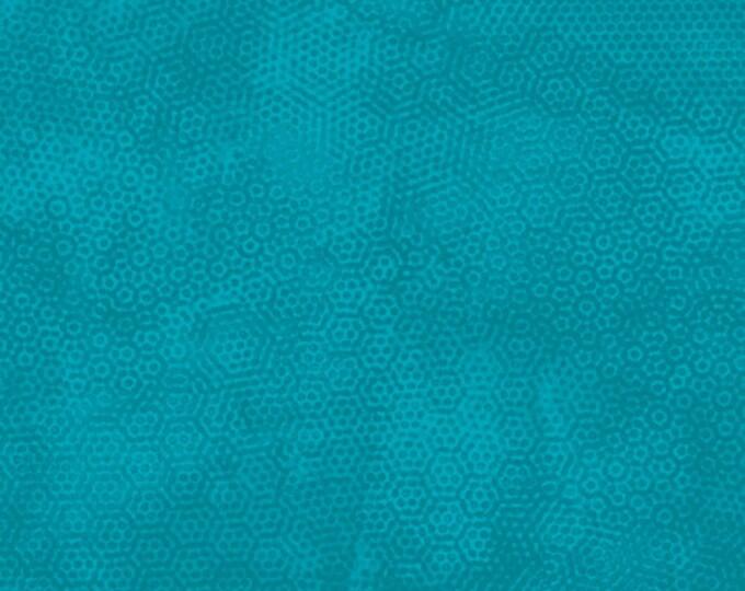 Andover Dimples Gail Kessler Basic Textured Blender Bondi Blue Teal Turquoise 1867-T18 BTY