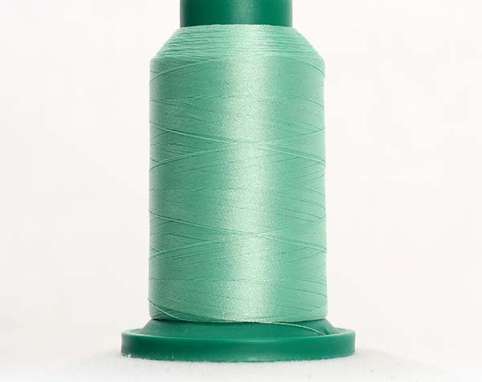 ISACORD Polyester Embroidery Thread Color 5450 Basic Seafoam 1000m