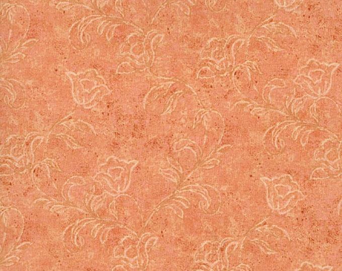 RJR Jinny Beyer Orange Peach Tonal Floral Leaf Mixer Palette Basic 6342-013 BTY