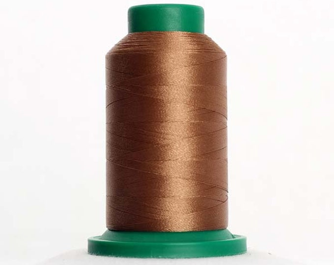 ISACORD Polyester Embroidery Thread Color 0853 Pecan 1000m