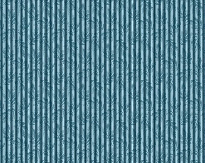 Andover Laundry Basket Quilts LBQ Edyta Sitar Something Blue Tonal Small Floral Fabric 8825-B BTHY