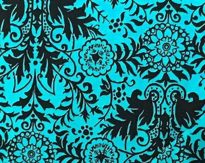 Quilting Treasures Ink & Arrow Toucan Do It Blue Cotton 1649-26106-Q Fabric BTY