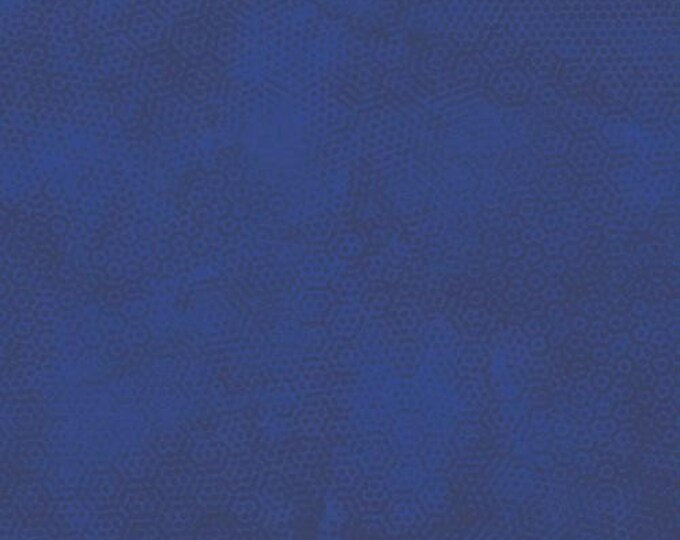Andover Dimples Gail Kessler Basic Textured Blender Indigo Navy Blue 1867-B17 BTY