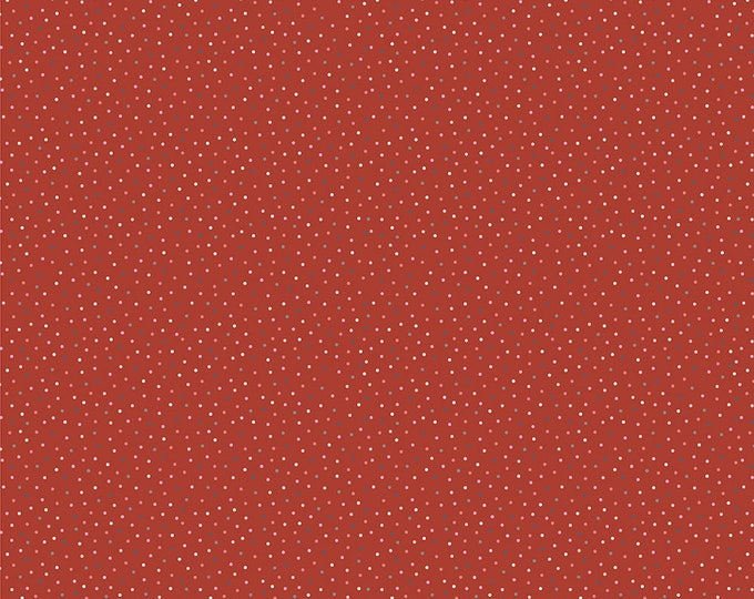 Poppie Cotton Speckled Hen Red CC20182 Categories: Country Confetti, Fabric 100% COTTON BTY