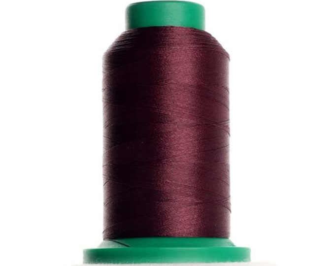 ISACORD Polyester Embroidery Thread Color 2336 Maroon 1000m