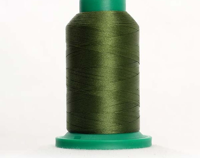 ISACORD Polyester Embroidery Thread Color 5933 Grasshopper 1000m