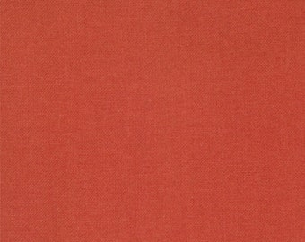 Moda Minick and Simpson Bar Harbor Red Orange Brick Solid Fabric 14660-13 BTY