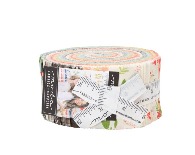 Moda Summer Sweet Jelly Roll® 37580JR Moda Precuts Moda Fabrics  Jelly Roll 2.5 Fabric Strips