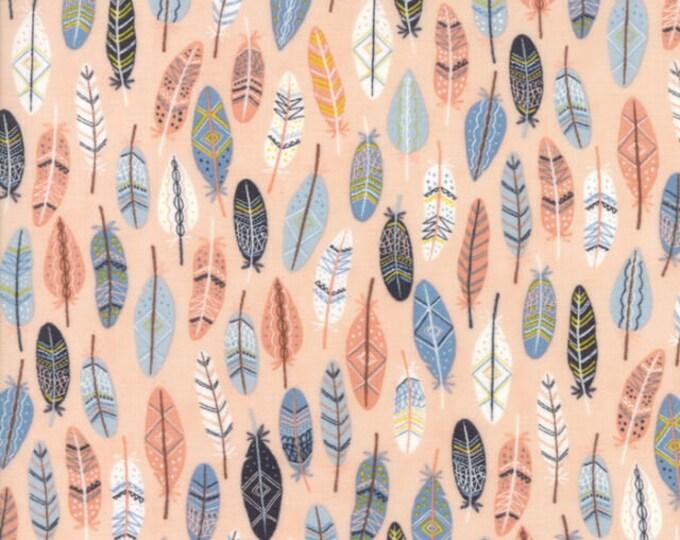 Moda Fabric Wild Free Abi Hall 35315-14  Pink Rosie   Quilt quiltin BTY