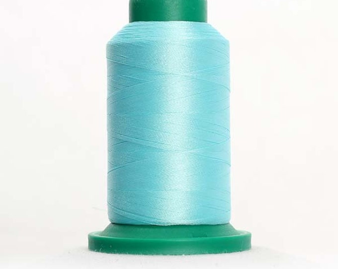 ISACORD Polyester Embroidery Thread Color 4740 Aquamarine 1000m