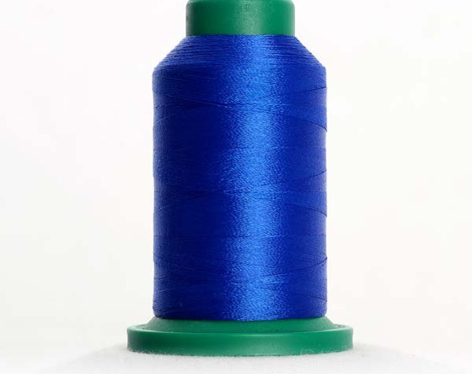 ISACORD Polyester Embroidery Thread Color 3510 Electric Blue 1000m