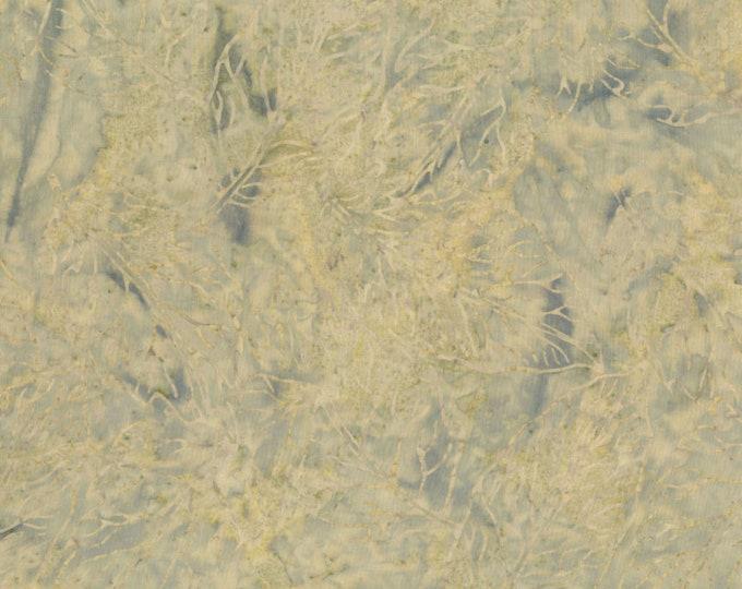 RJR Jinny Beyer Malam Batik Light Tan Beige Grey Gray Floral Leaf Leaves Batik 2145-001 Fabric BTY