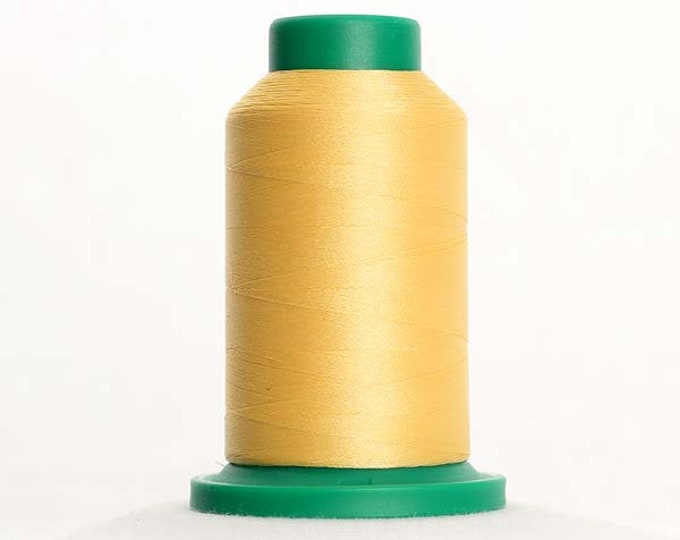 ISACORD Polyester Embroidery Thread Color 0640 Parchment 1000m