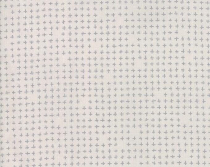 Moda Modern Background Paper White Pluses 1675-13 BTY