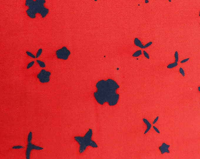 NEW Andover by Alison Glass Chroma Sun Prints 8133-R Salmon Scatter Batik Fabric BTY