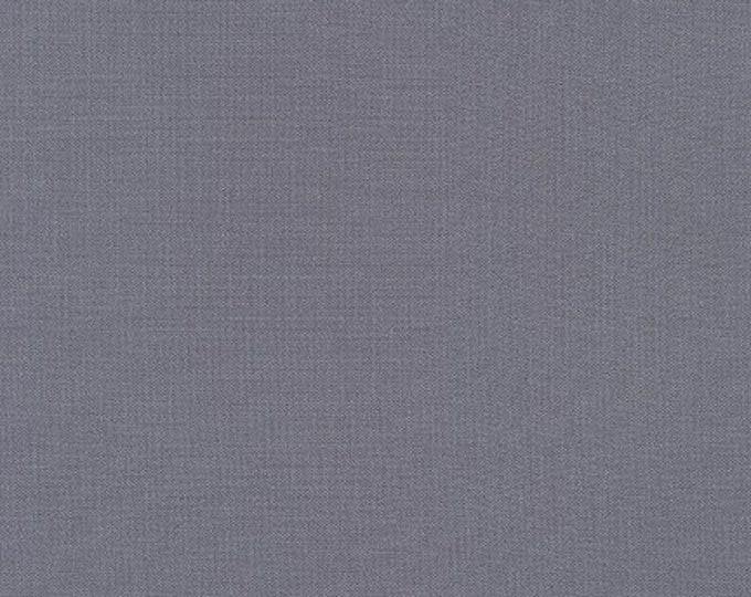 Robert Kaufman Kona Cotton Solids MEDIUM GREY 1223 Gray Fabric BTY