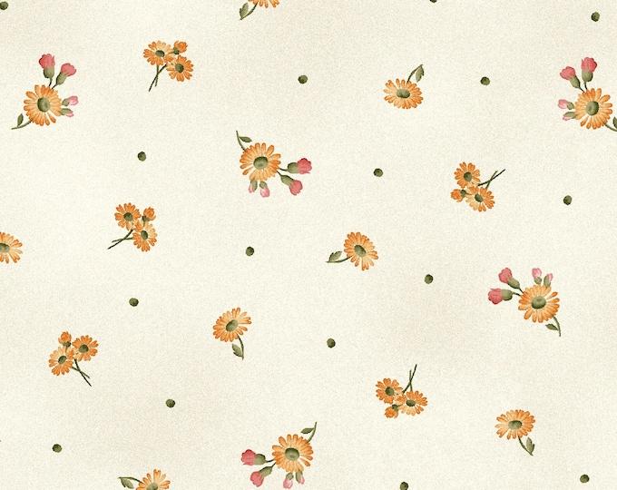 Maywood Fabric MAS9328-E A Fruitful Life Tiny Daises BTY
