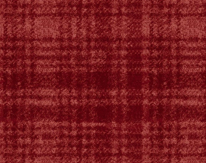Maywood Woolies Red on Red Large Plaid FLANNEL Fabric MASF-18501-R BTHY