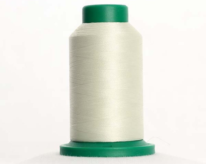 ISACORD Polyester Embroidery Thread Color 0670 Cream 1000m