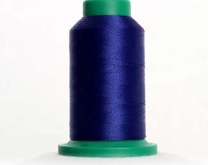 ISACORD Polyester Embroidery Thread Color 3333 Fire Blue  1000m