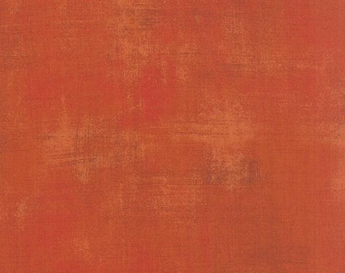 Moda Grunge Basics PUMPKIN Orange Mottled Background Fabric 30150-285 BTY