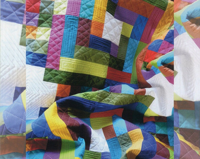 Beyond the Reef Tiki Temple Quilt Modern Pattern Natalie Barnes