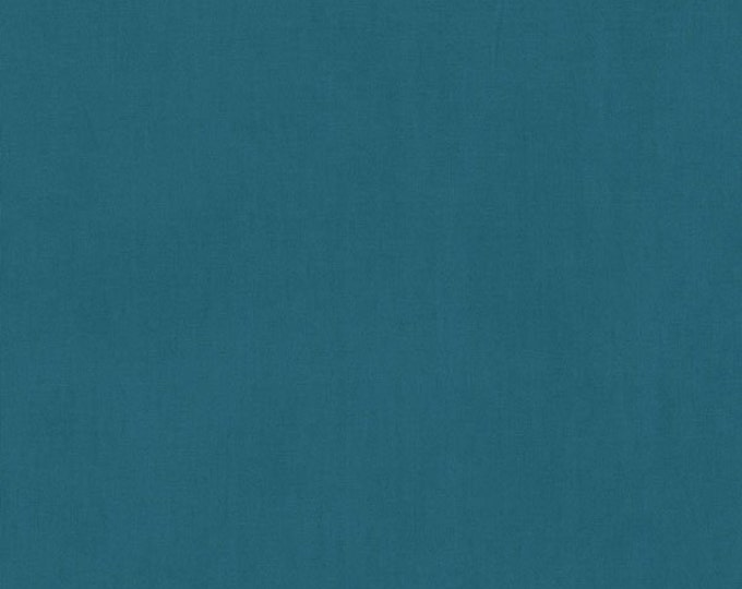 RJR Cotton Supreme Teal Blue Green Solid Modern Fabric 9617-289 BTY