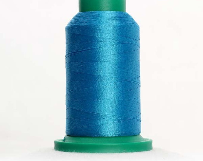 ISACORD Polyester Embroidery Thread Color  4101 Wave Blue 1000m