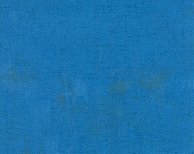 Moda Grunge Basics SAPPHIRE Blue Mottled Background Fabric 30150-221 BTHY