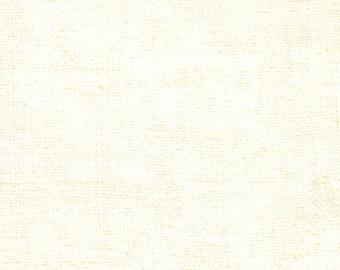 Moda Rustic Weave Modern Tonal Background Eggshell Cream Off White 32955-11 Fabric BTY