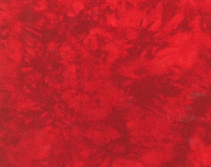 RJR Handspray Mottled Red Crimson Scarlet Tonal Fabric 4758-010 BTY