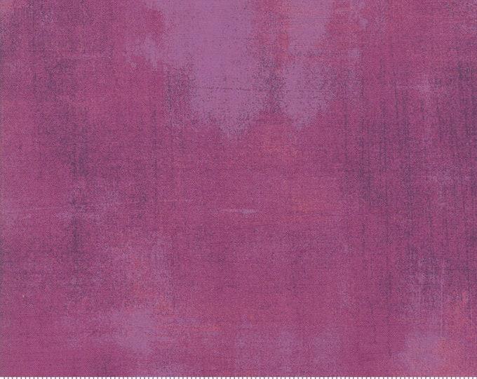 Moda Grunge Basics New BERRY PIE Purple Mottled Background 30150-476 Fabric BTHY
