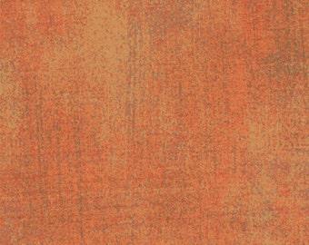 Moda Grunge Basics Fandango Orange Mottled Background Fabric 30150-113 BTY