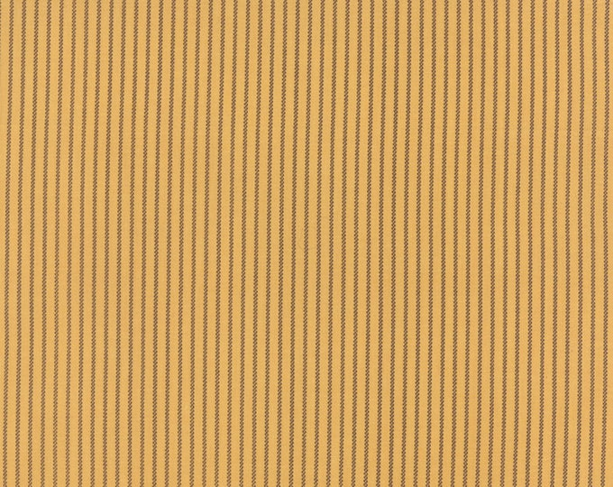 Moda Betsy Chutchian Lizzies Legacy Butterscotch Civil War Yellow Gold Stripe Fabric BTHY 31515-16
