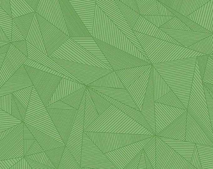 Andover Redux Giucy Giuce Terra Seaglass Aqua Mint Green Geometric Line Fabric BTY 8962-G1