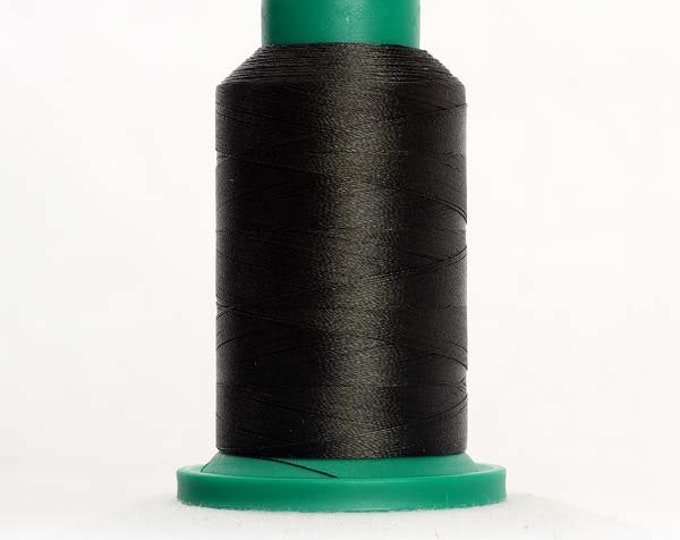 ISACORD Polyester Embroidery Thread Color 5866 Herb Green 1000m