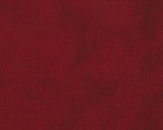Moda Primitive Gatherings Muslin Tonal Red Brick Crimson Fabric 1040-39 BTY
