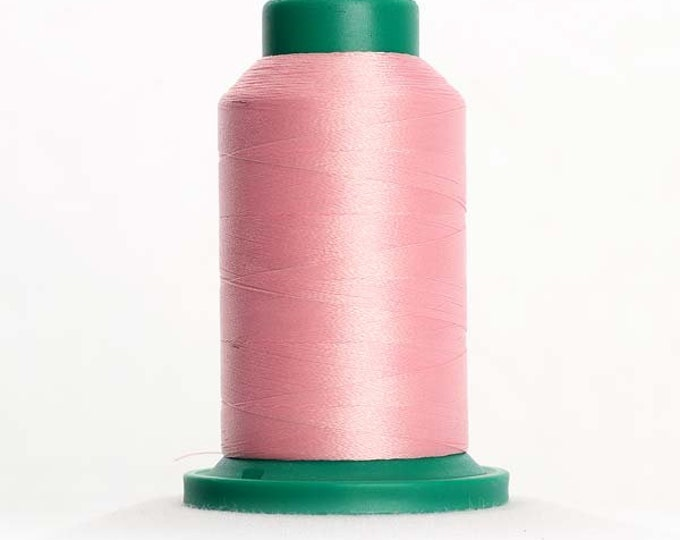 ISACORD Polyester Embroidery Thread Color 2250 Petal Pink 1000m