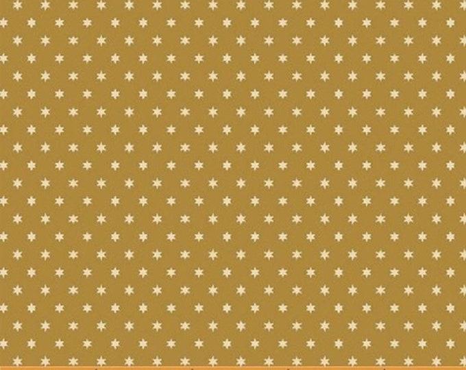 Windham Freedom Bound Star Yellow Mustard Cream Vintage Patriotic American Civil War 41978-3 Fabric BTY